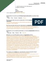 Ficha Que Me Pasa Con Las Matematicas FICHA LECTURA