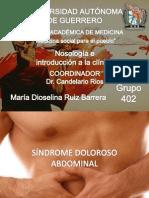 Sx Dolor Abdominal