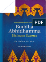 Buddha Abhidhamma Ultimate Science (Dr Mehm Tin Mon)