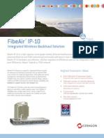 Ceragon - FibeAir IP-10 - Brochure