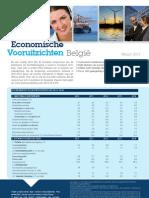 Economische Vooruitzichten België - Maart 2013