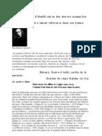 Les Phares de Baudelaire, L'enquête.