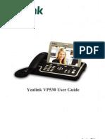 Manual Yealink Vp530 En