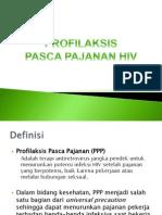 Profilaksis Pasca Pajanan HIV