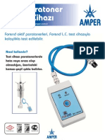 Amper Elektrik Paratoner