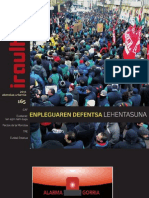 165 (aldizkari sindikala, revista sindical, journal syndical)