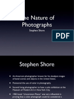 Nature of Photographs.
