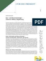Gen- und Nanotechnologie