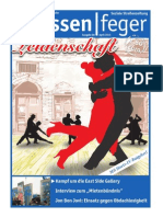 Leidenschaft Ausgabe 08 2013 des strassenfeger