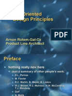Object Oriented Design Principles