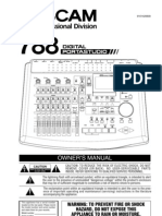 Audio - Manual Tascam 788