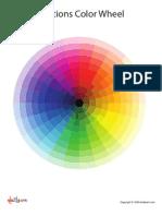 Emotions Color Wheel
