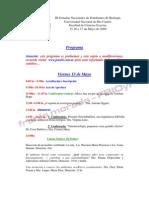 Programa Preliminar JoNEBi '09