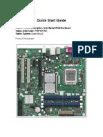 Intel D965GF Quick Start Guide