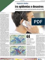 Big data contra epidemias e desastres