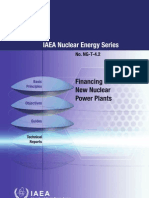 Financing of New Nuclear Power Plants