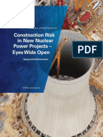 Construction Risk in New Nuclear Power Projects