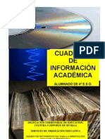 CUADERNO DE INFORMACIÓN ACADÉMICA ESO  2013-14.