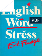 English Word Stress Section 1