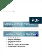 Introduction Diseño de Algortimos