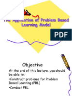 Problem Based Learning for Physics 1