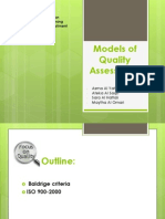 models of quality assessment1