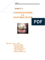 Cognitive Radio Va Matched Filter