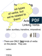 Three Types of Verbs