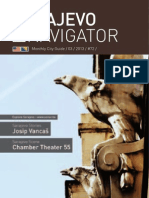 Sarajevo Navigator City Guide  / March 2013 - No. 72