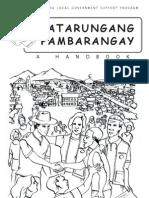 33914508 Katarungang Pambarangay a Handbook