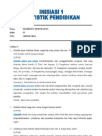 Bambang Murtyanto 100210274044 b to 1 Statistik Pendidikan