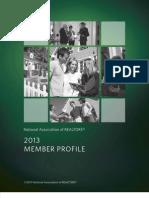 Highlights Member Profile 2013