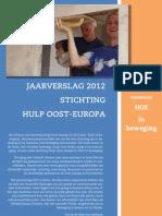 HOE Jaarverslag 2012