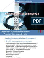 Introduccion a La Empresa