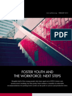 Foster Youth and the Workforce - Next Steps