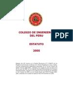 Ley de Creacion Del Colegio de Ingenieros Del Peru