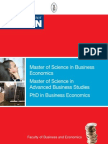 Leuven Business Master