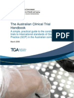 Clinical Trials Handbook (TGA) 2006