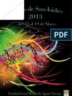 Programa Aguas Nuevas 2013