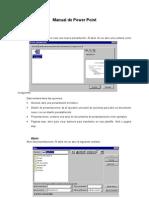 PowerPoint97 Menus