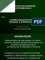 A - Racionalización y Normalizacion