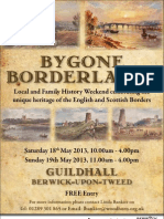Bygone Borderlands Poster 2013