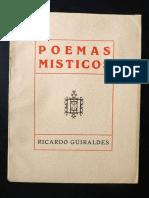Poemas Misticos - Ricardo Guiraldes