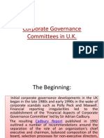 Corporate Governance Committees UK