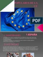 FIESTAS POPULARES DE ESPAÑA