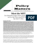 Meet the MET- May 2013
