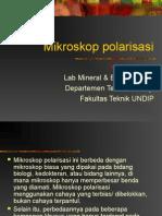 Mikroskop polarisasi