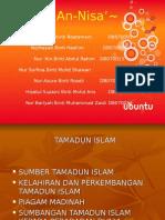 SUMBER TAMADUN ISLAM