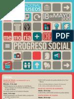 Folleto Día Internacional de los Museos Aragón 2013