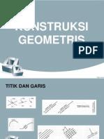 Kontruksi Geometri